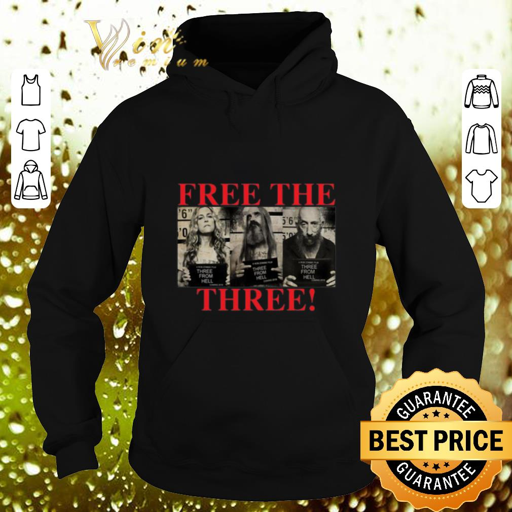 Top 3 From Hell Free the Three Rob Zombies shirt 4 - Top 3 From Hell Free the Three Rob Zombies shirt