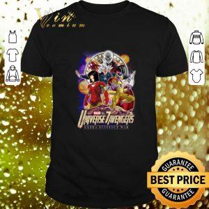 Top Dragon Ball Universe 7 Avengers Ultra Instinct War Infinity War shirt