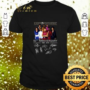 Top Earth Wind & Fire 50th anniversary 1969 2019 signatures shirt