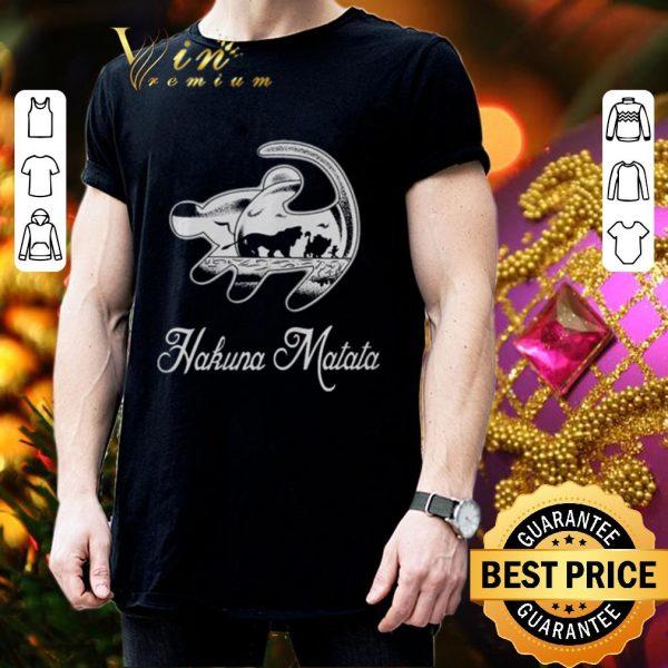 Top Hakuna Matata Lion King shirt