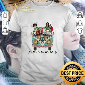 Top Hippie bus friends Horror movie characters shirt