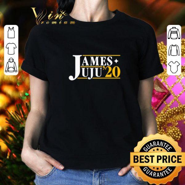 Top James Juju for president 2020 shirt