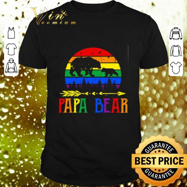 Top LGBT papa bear shirt