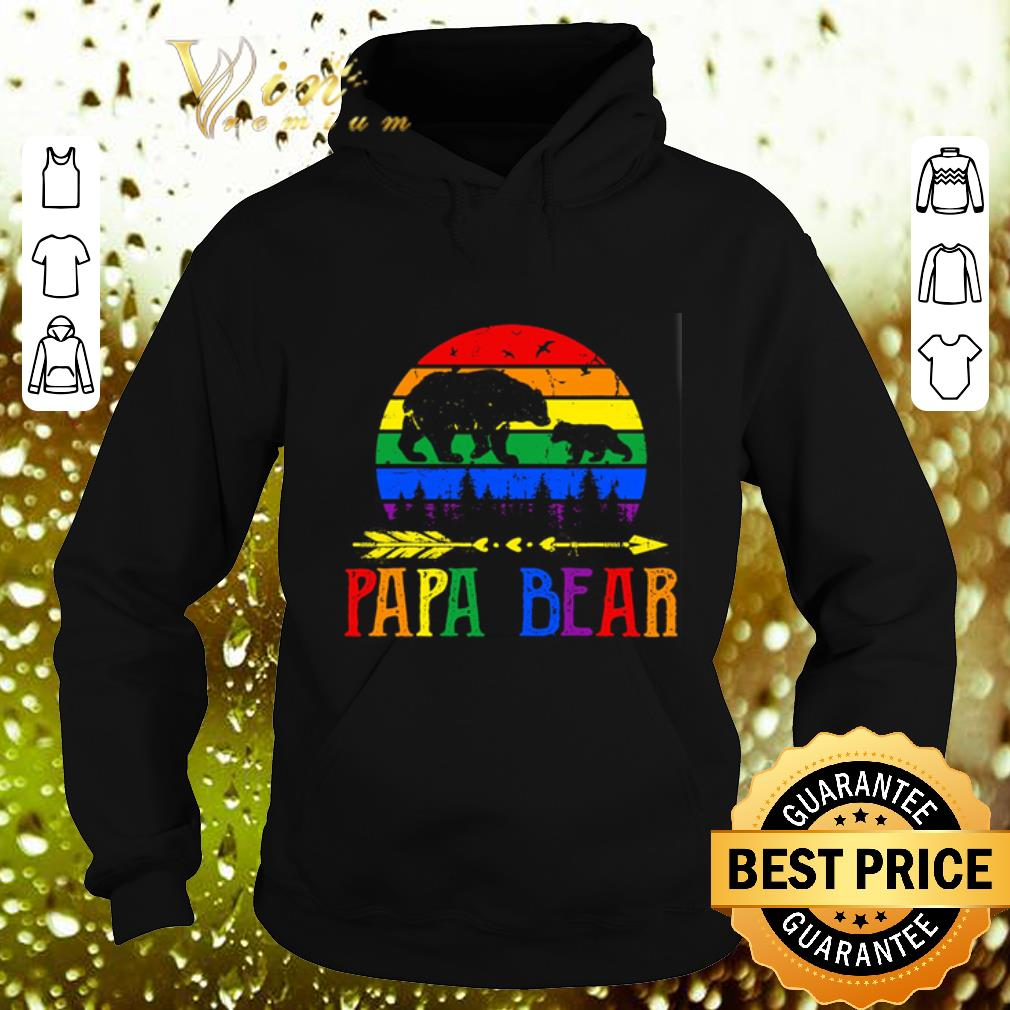 Top LGBT papa bear shirt 4 - Top LGBT papa bear shirt