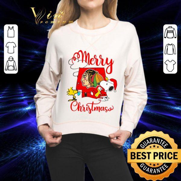 Top Snoopy Merry Christmas Woodstock Washington Redskins shirt
