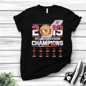 2019 AFC West Division Champions Kansas City Chiefs shirt
