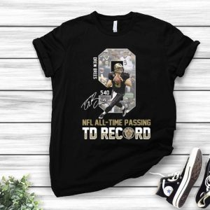 9 Drew Brees NFL All-time Passing To Record New Orleans Saints shirt