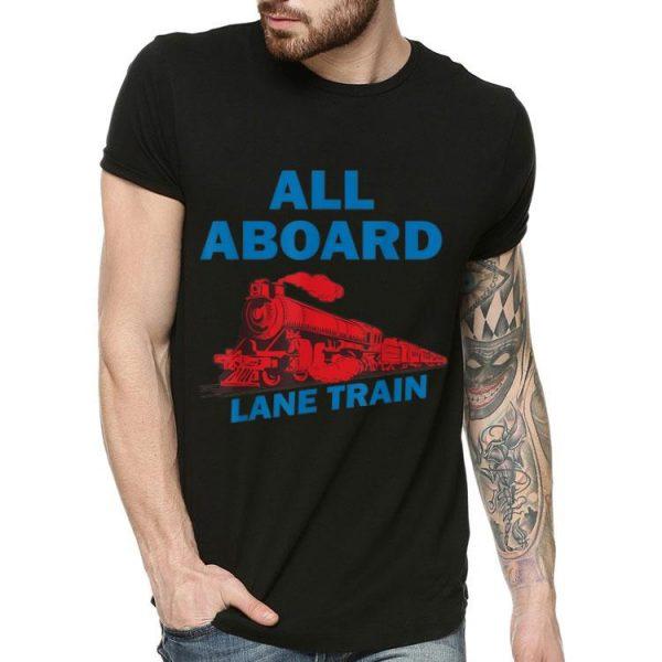All Aboard Lane Train shirt