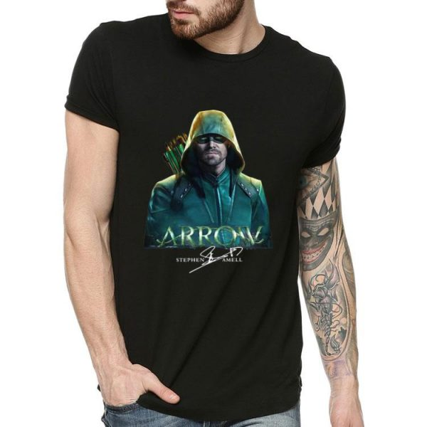 Arrow Stephen Amell Signature shirt