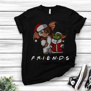 Baby Gizmo And Baby Yoda Santa Friends Christmas shirt