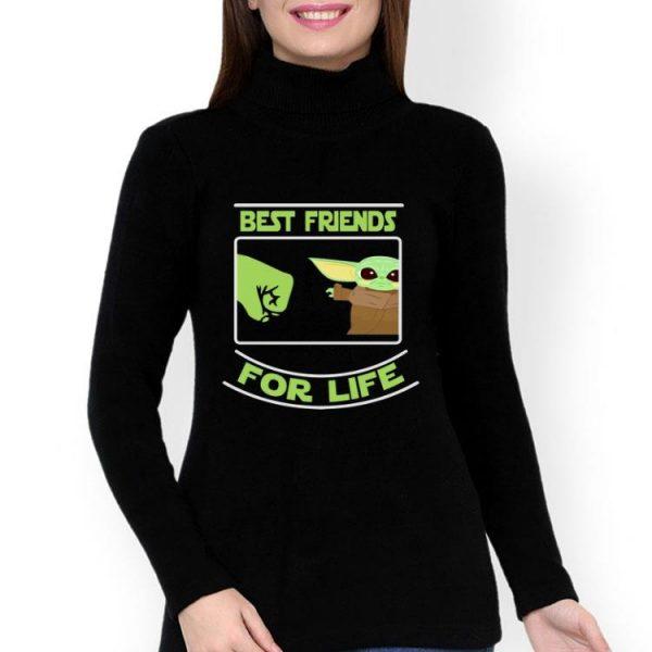 Baby Yoda Best Friends For Life shirt