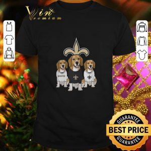 Hot Beagle dogs New Orleans Saints shirt