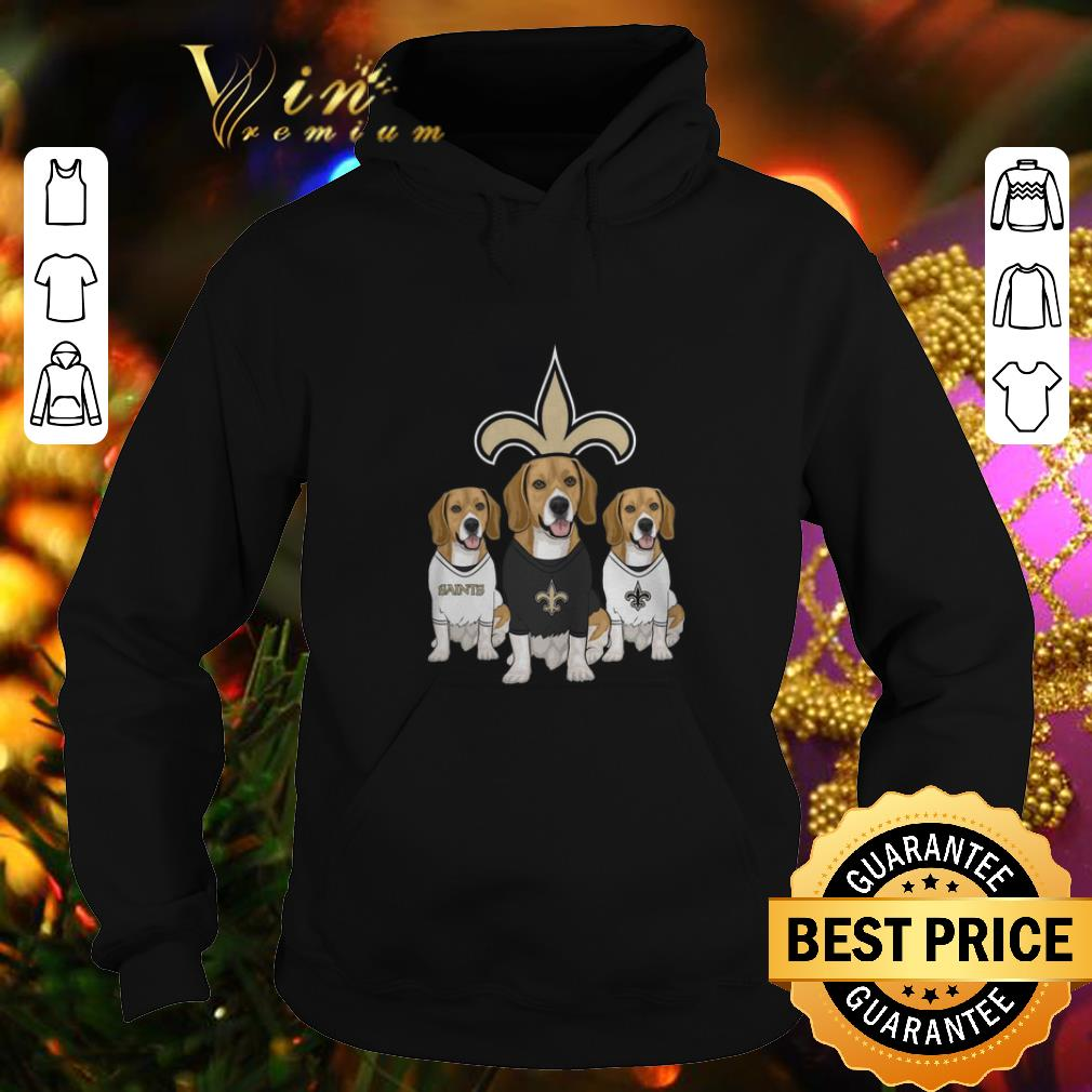 Hot Beagle dogs New Orleans Saints shirt 4 - Hot Beagle dogs New Orleans Saints shirt