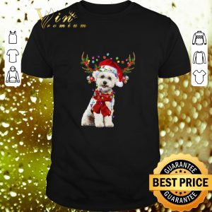 Hot Bichon Frise Reindeer Christmas shirt