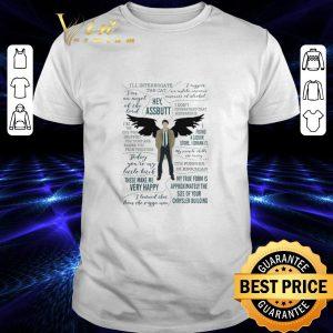 Hot Castiel Supernatural Ill Interrogate The Cat Hey Assbutt shirt