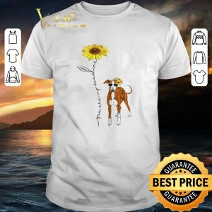 Hot Italian Greyhound You Are My Sunshine Sunflower shirt
