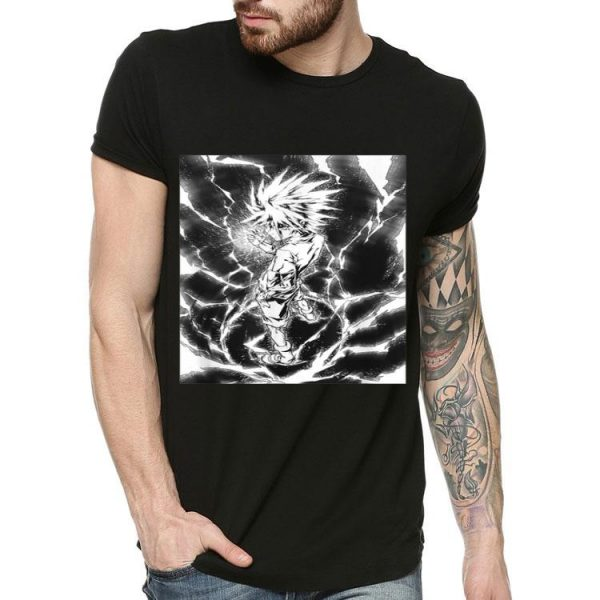 Hunters X Hunter Thunder Killua Zoldyck shirt