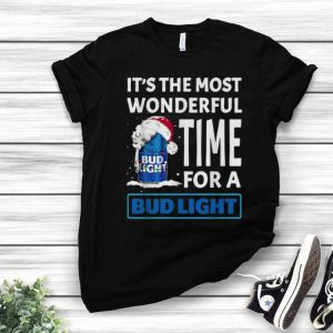 It's The Most Wonderful Time Of A Bud Light Christmas shirt
