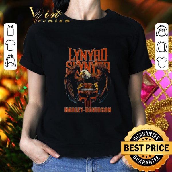 Original Eagle Lynyrd Skynyrd Harley Davidson shirt