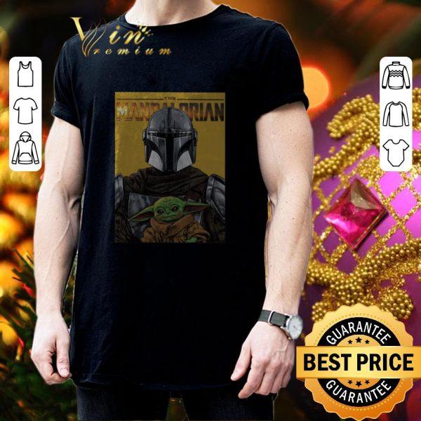 Original The Mandalorian and Baby Yoda Star Wars shirt