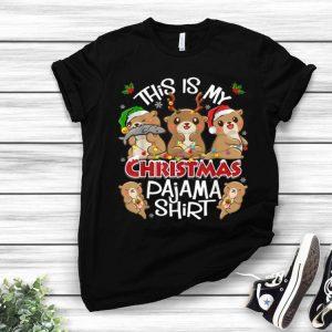 Otters Christmas This Is My Christmas Pajama shirt