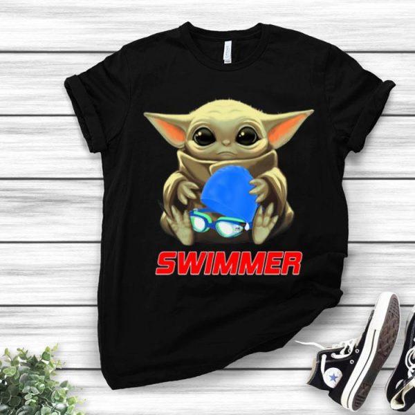 Star Wars Baby Yoda Hug Swimmer shirt
