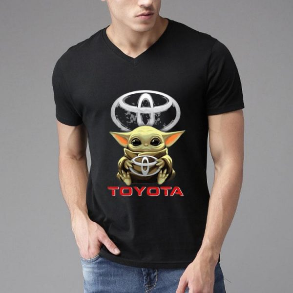 Star Wars Baby Yoda Hug Toyota shirt