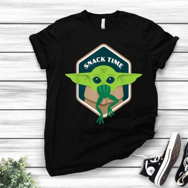 Star Wars The Mandalorian Baby Yoda Snack Time shirt