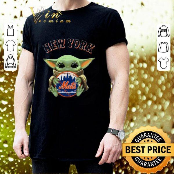 Top Baby Yoda Hug New York Mets Star Wars shirt