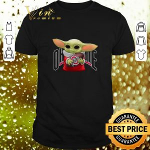 Top Baby Yoda Hug Ohio State Buckeyes shirt