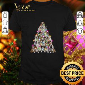 Top Bulldog Christmas tree shirt