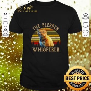 Top Goose Cat The Flerken Whispered vintage sunset shirt