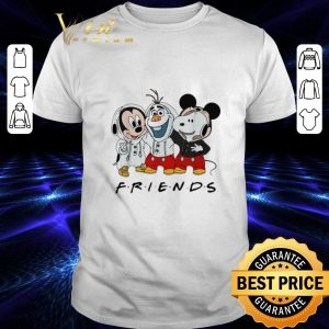 Top Mickey Olaf and Snoopy Friends shirt
