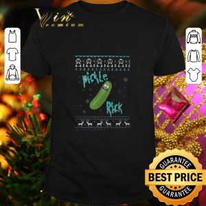 Top Pickle Rick and Morty Rick Sanchez ugly Christmas sweater
