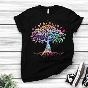 Colorful Life Tree Is Really Good shirt