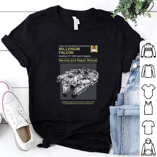 Corellian engineering corporation Millenium Falcon Service shirt