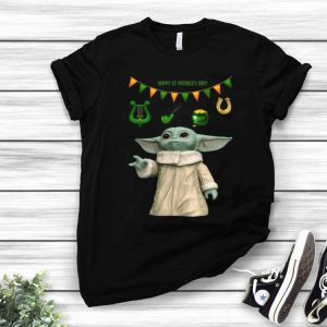 Star Wars Baby Yoda St Patrick's Day shirt