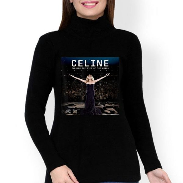 Vintage Celine Through The Eyes Of The World shirt