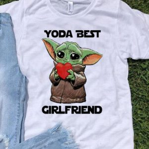 Baby Yoda Best Girlfriend Valentine's Day shirt