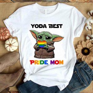 Baby Yoda Lgbt Best Pride Mom shirt