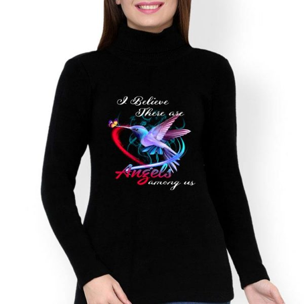 Bird I Believe There Are Angels Among Us shirt