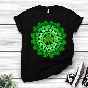 Circle Shamrock Happy St. Patrick's Day shirt