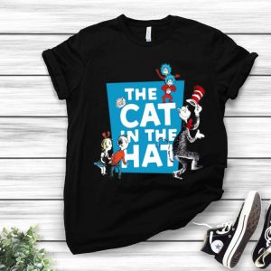 Dr Seuss And Friend The Cat In The Hat shirt