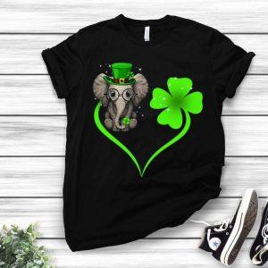 Elephant Heart Shamrock Irish St Patrick's Day shirt