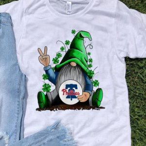 Gnomes Hug Philadelphia Phillies Baseball Shamrock shirt