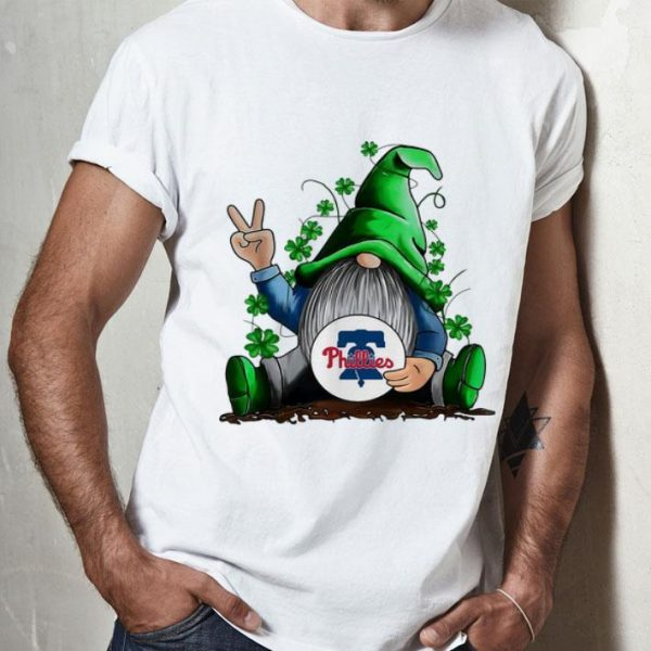 Gnomes Hug Philadelphia Phillies Baseball Shamrock shirt