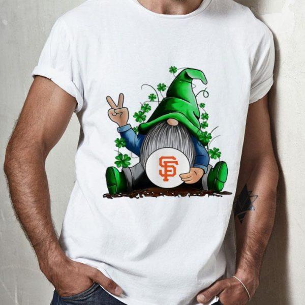 Gnomes Hug San Francisco Giants Baseball Shamrock shirt