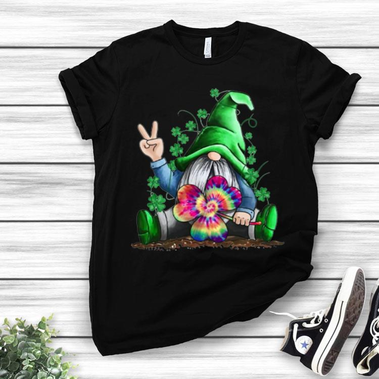 Patrick Day Gnomes Clover shirt St