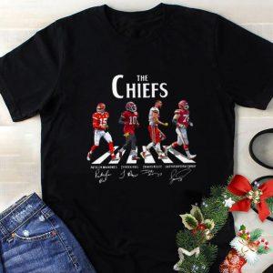 Hot Kansas City Chiefs The Chiefs Abbey Road The Beatles signatures shirt