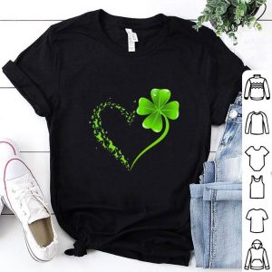 Hot Love Horses Irish heart St Patrick's day shirt